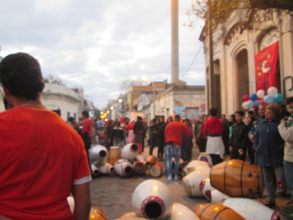 Candombé, Montevideo