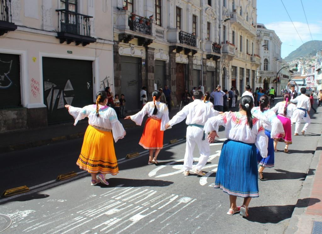 Quito Prozession